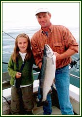 King Salmon are plentiful in Kachemak Bay